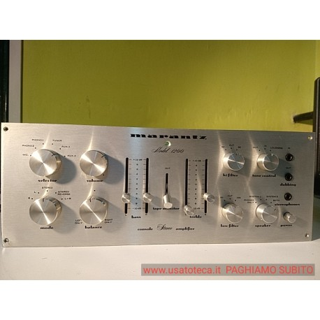 amplificatore Marantz Model 1200 - preferiamo non spedire