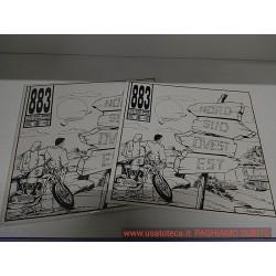 """Vinile 12"""" 33 giri 883 - NORD SUD OVEST EST LP 1 STAMPA 1993 QUASI COME NUOVO !"""