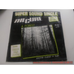 the cure a forest super sound singolo 45 giri - introvabile