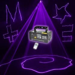 PRIOETTORE LASER LUCI Suny DM-V150 DMX VIOLA LASER DJ Show Party