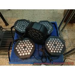 EFFETTI LUCE EXTREME SOUND PAR LED FARI LED 18 X 3 WATT