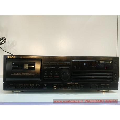 Teac AD-600 piastra + triplo lettore cd con telecomando