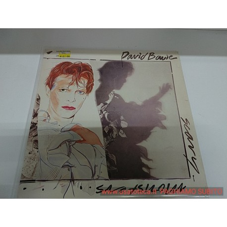 DAVID BOWIE SCARY MONSTERS AND SUPER CREEPS LP 1980 PL13647 VG+