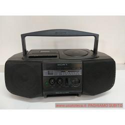 RADIO CD CASSETTE SONY CFD-V10 PORTATILE