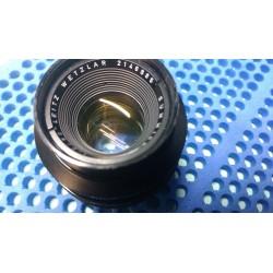 Leica Summicron-R 50mm f/2 con adattatore per montaggio su corpi LEICA M