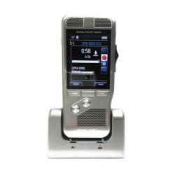 PHILIPS Professional DPM8000 Pocket Memo Voice Recorder Dittafono DOCK USB