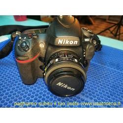 Nikon D800 CON OBIETTIVO 50MM F1,8 AF, 11mila scatti soltanto!