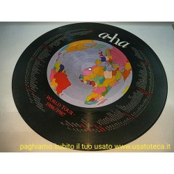 """A-Ha Hunting High And Low UK 12"""" vinyl picture disc 12 pollici"""