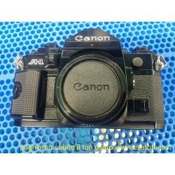 fotocamera analogica Canon A-1 solo corpo