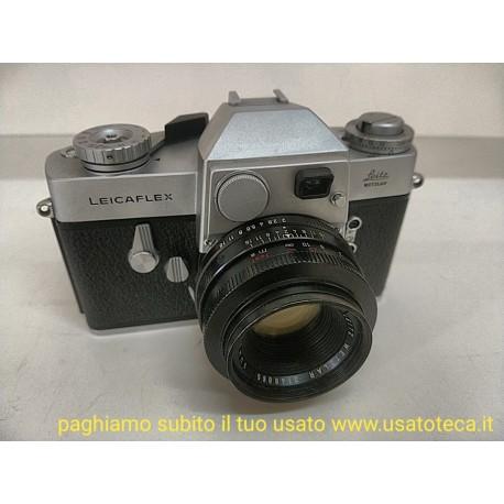 fotocamera made in Germany Leicaflex con obiettivo Leica Summicron-R 50mm f/2